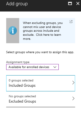 Microsoft Intune Application on Windows 10 Devices